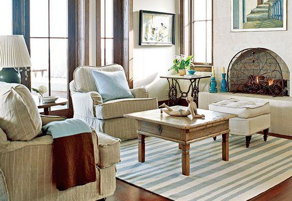 Американский интерьер — традиционный стиль и дизайн дома.