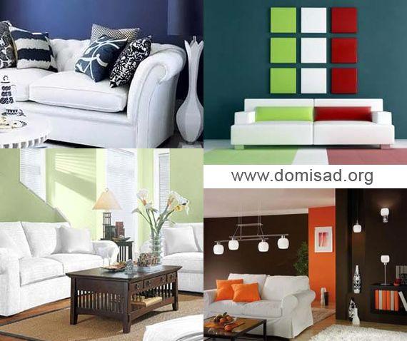 Белая мебель в дизайне гостиной, спальни, кухни, детской и ванной комнат.