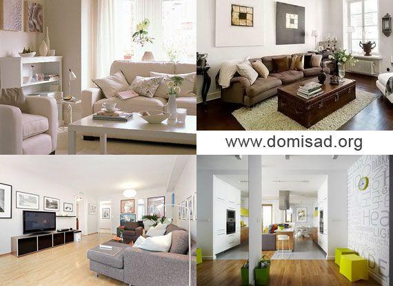 Белая стена в дизайне интерьера, обои для стен, фото.