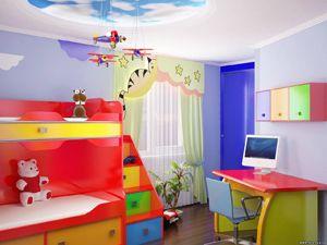 Дизайн детской комнаты для мальчика, фото интерьеров.