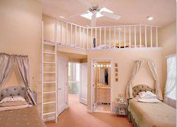 Дизайн детской комнаты своими руками, фото интерьера.