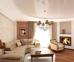 Дизайн гостиной комнаты — советы по планировке и фото.