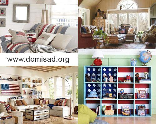 Дизайн интерьера в американском стиле, идеи для декора.