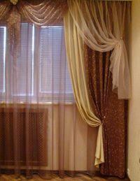Дизайн штор для спальни — виды, стили и красивые новинки.
