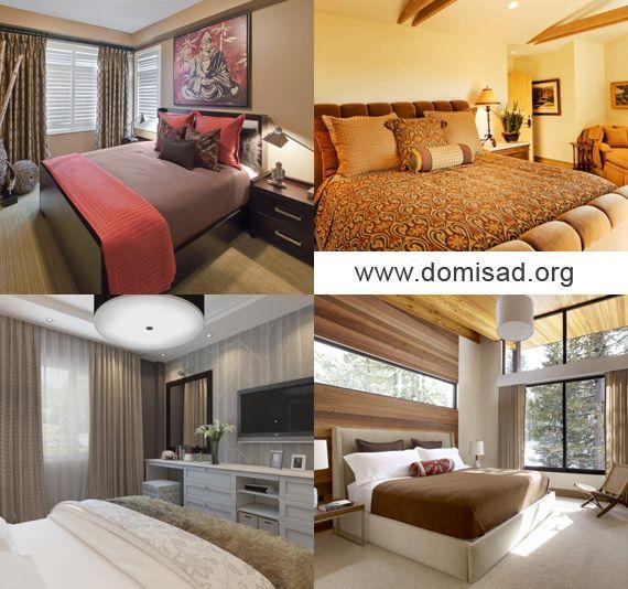 Дизайн стены в спальне от а до я — сочетание и подбор цветов.
