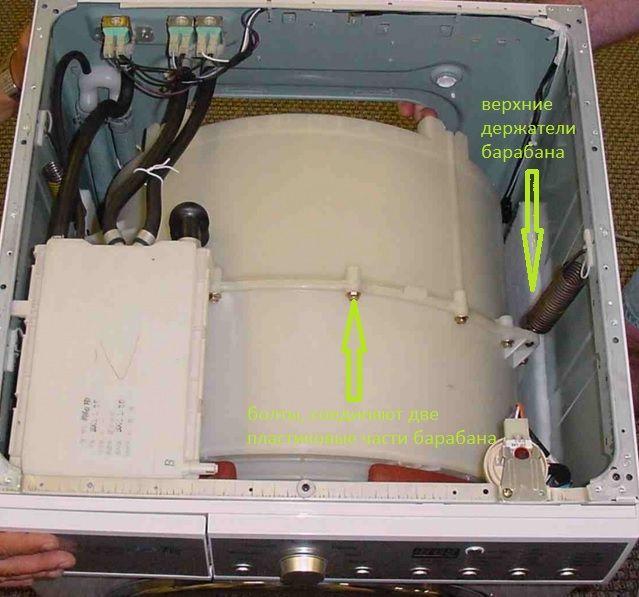 Как поменять подшипник в стиральной машине, ремонт барабана у себя дома
