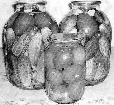 Консервирование фруктов и овощей в домашних условиях