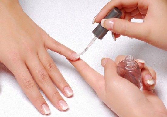 Укрепление ногтевой пластины