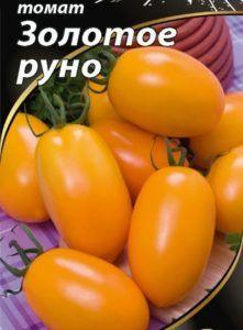 Необычайный томат «золотое руно»: описание сорта, его достоинства и особенности