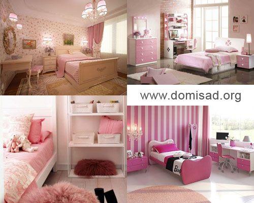 Розовая спальня — советы по дизайну в нежных тонах, фото.