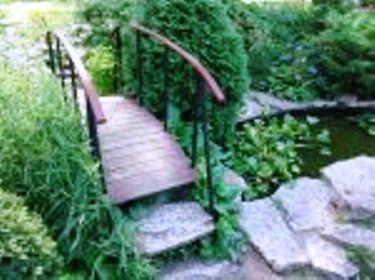 Сад в пейзажном стиле, обустройство пейзажного сада
