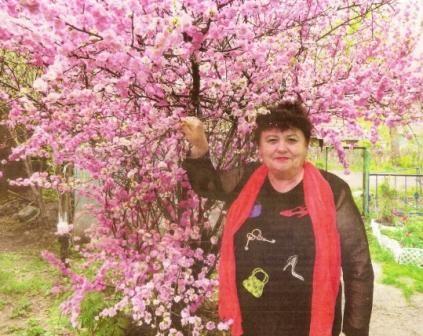 Сакура в саду нины владимировны моисеевой из города калтан