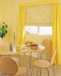Современный дизайн штор для кухни, советы и фото.