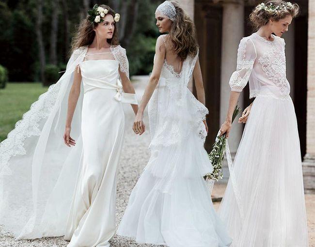 Свадебная мода: 83 дизайнерских идеи платьев и обуви