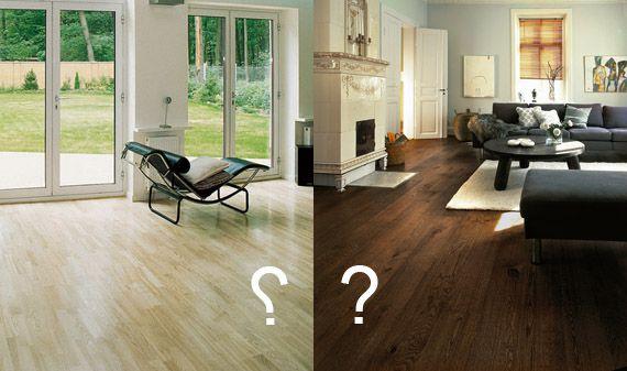 Светлый или темный пол (деревянные полы, ламинат) в дизайне интерьера ?