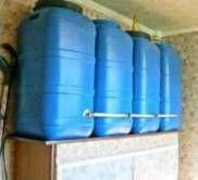 водоснабжение частного дома бак для дачи